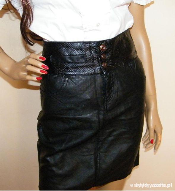 Spódnice spódnica skóra rozmiar L