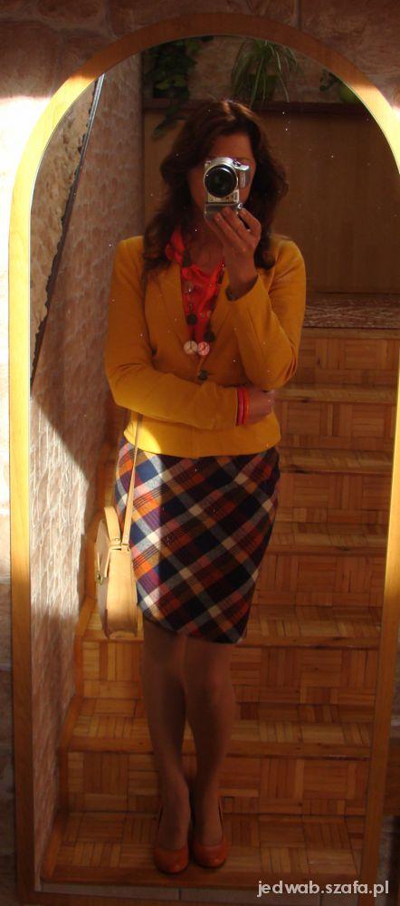 Mój styl Jesienna krata