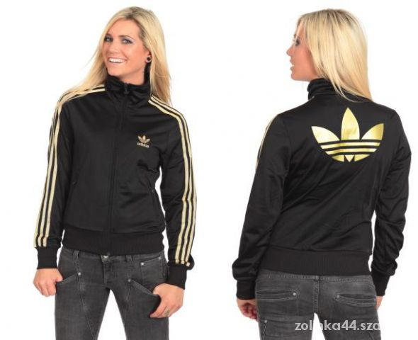 Rewelacyjny Bluza Adidas oldschool czarno złota S w Bluzy - Szafa.pl SO65