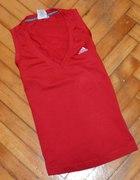 czerwona adidas S