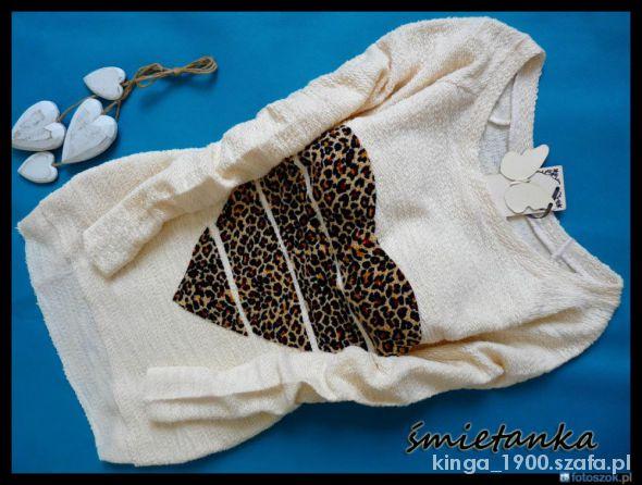 sweterk panterkowe serce