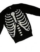 Sweter kości HM z żebrami