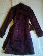 Płaszcz bordowy damski...