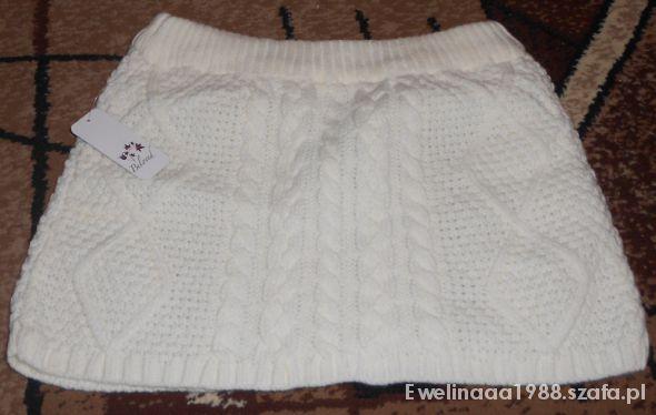 Spódnice Gruba mini spódniczka