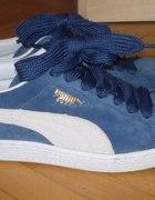 Puma Suede niebieskie bardzo wygodne