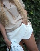 Spódnico spodnie ZARA WOMEN białe...