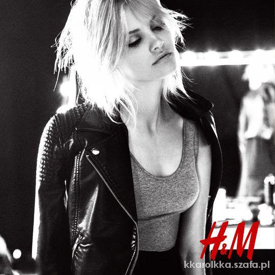 nowa czarna pikowana ramoneska H&M 34 XS
