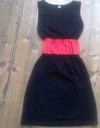 Bawełniana sukienka taliowana