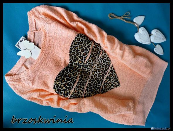 sweterek serce 3 kolory