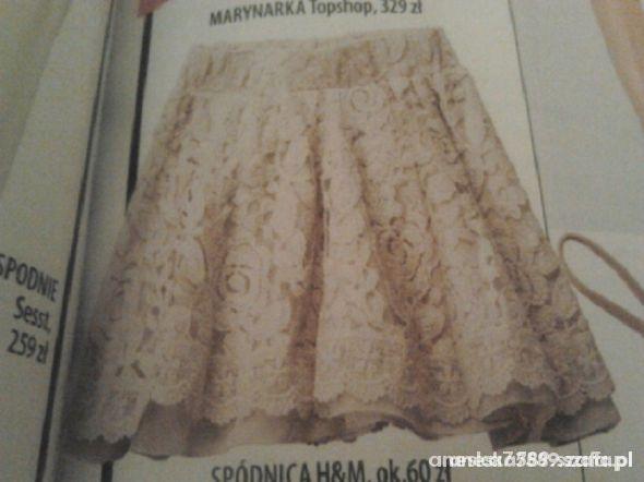 spódnica koronkowa L