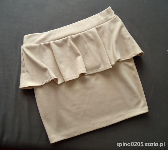 Spódnice spódniczka z baskinką
