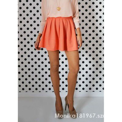 Spódnice spódnica rozkloszowana mini