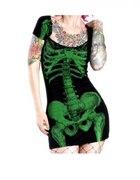 KREEPSVILLE 666 sukienka szkielet...