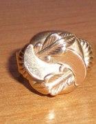 Okazały pierścień kopuła 5 g złoto 585