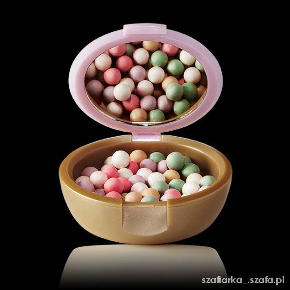 oriflame perełki róż puder w perełkach