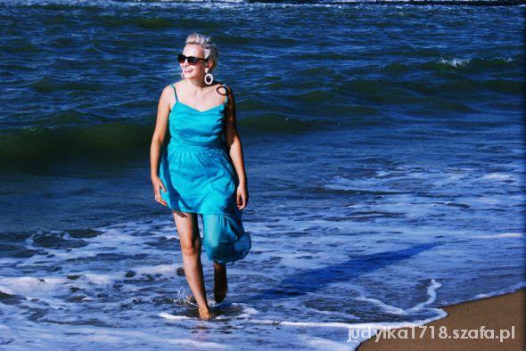 Romantyczne Wypad nad morze i morska stylizacja
