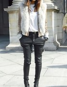 Skorzanych spodni