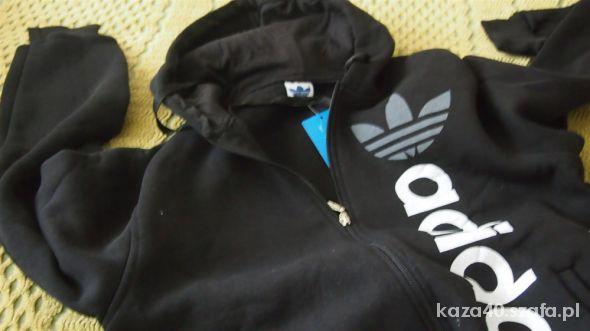 czarna gruba bluza adidas m w Bluzy Szafa.pl