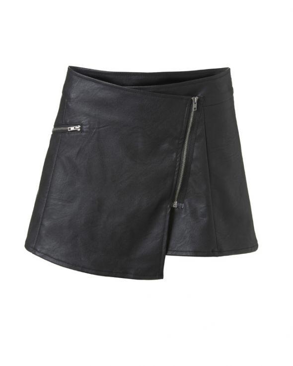 Spódnice spodniczki z eco skorki atmosphere