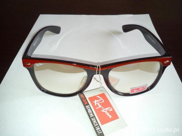 okulary zerówki męskie ray ban