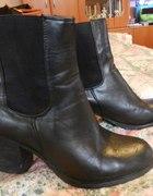 czarne botki I