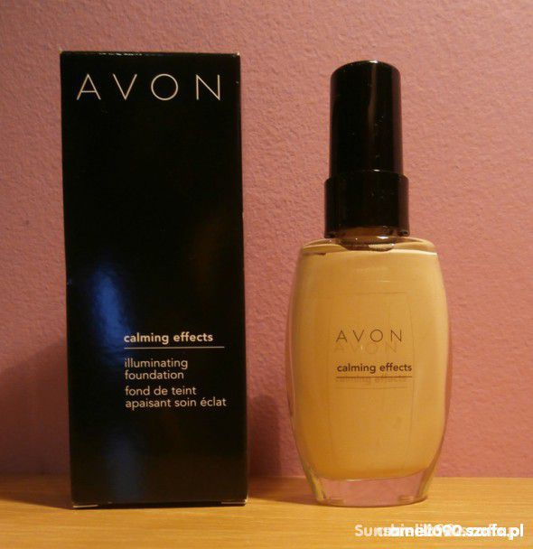 podklad avon calming effects ivory