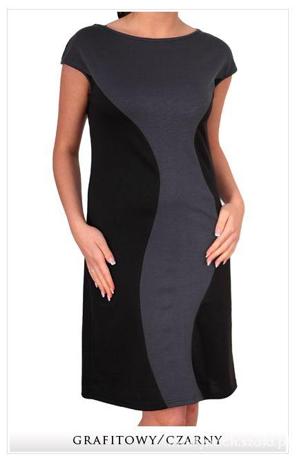 nowa wyszczuplająca sukienka 46