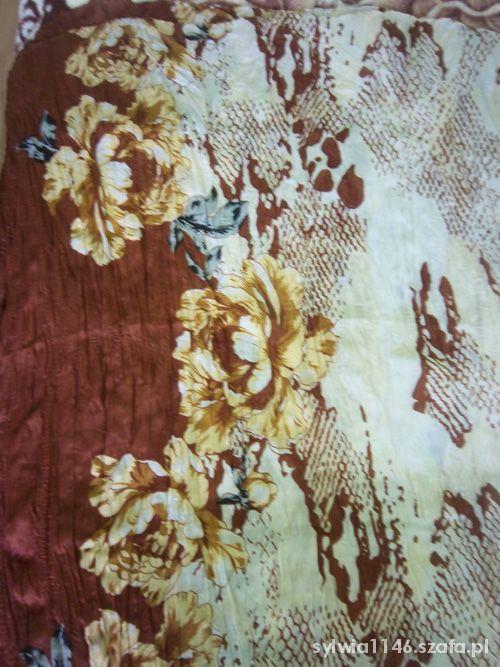 Chusty i apaszki Długa szeroka kolorowa chusta