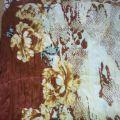 Długa szeroka kolorowa chusta