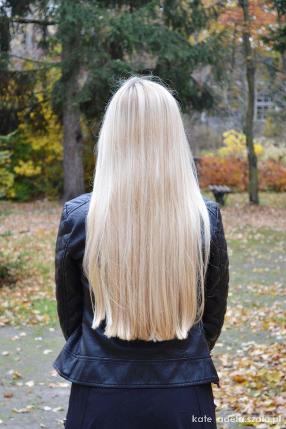 moje włosy w październiku