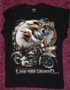 Wilk orzeł motocykl rozm L WILD