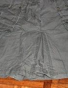 śliczna blogerska spódnica khaki M L