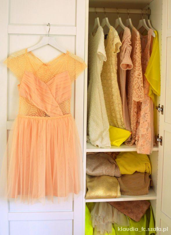 Suknie i sukienki Koronkowa sukienka ASOS