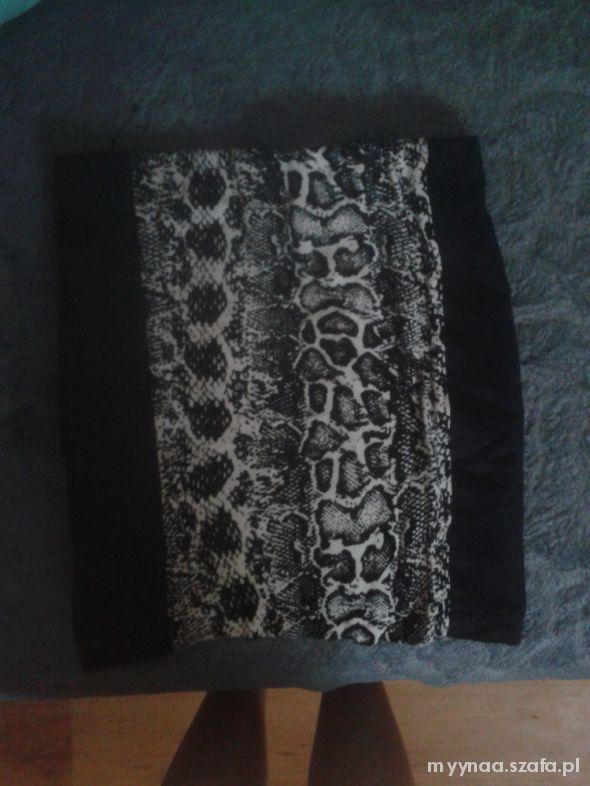 Spódnice spódnica wężowa s