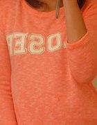 Bershka neonowa bluza 36
