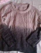 sweterek ombre c&a