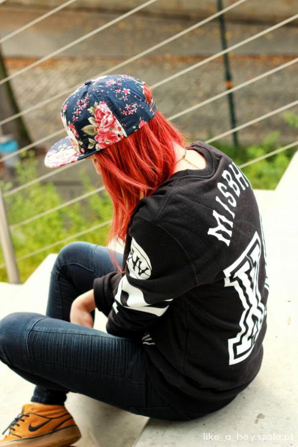 Mój styl misbehave nineties sweatshirt