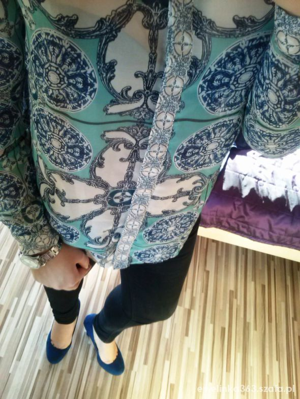 Eleganckie koszula print