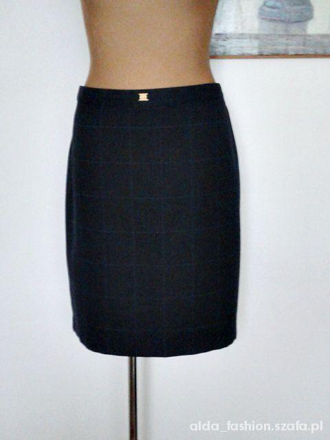 Spódnice MARKS&SPENCER spódnica ołówkowa w kratę 48 50