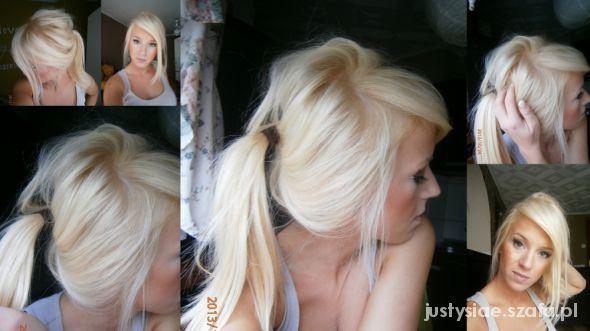 Mój nowy blond złocisty miodowy