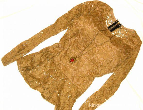Bluzki koronkowa baskinka