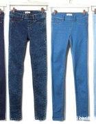 tregginsy jeansowe M