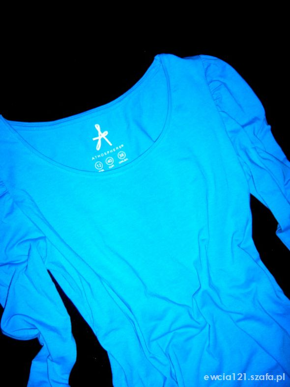 Bluzki firmowa niebieska bluzka