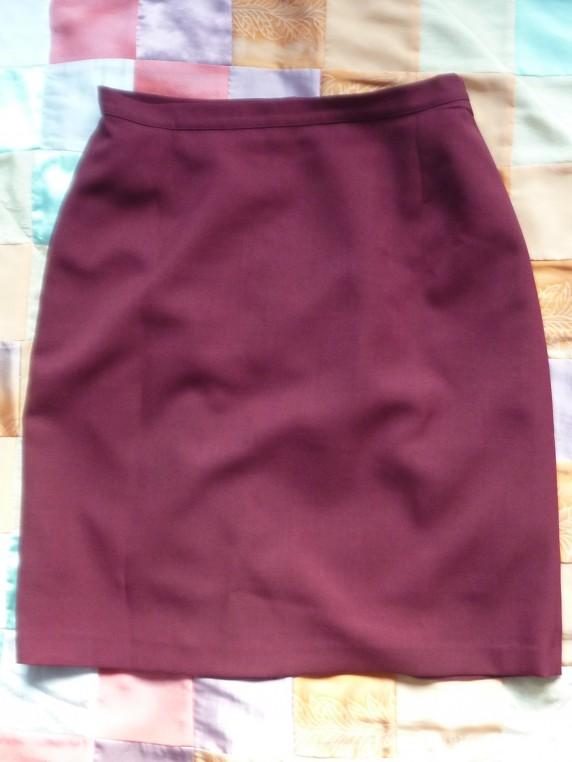 Spódnice Bordowa spódnica cena z wysyłką
