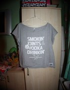 bluzka Diamante Wear Smokin Joints Vodka Drinki