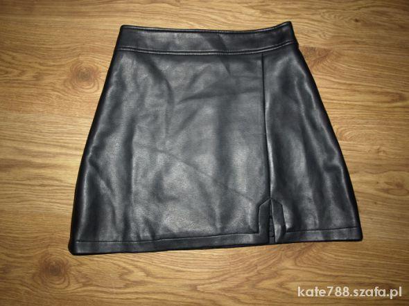 Spódnice Skórzana spódnica S