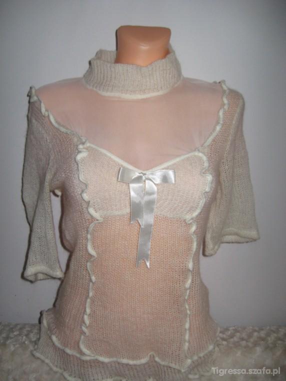 Bluzki Urocza kobieca bluzka rozmiar M