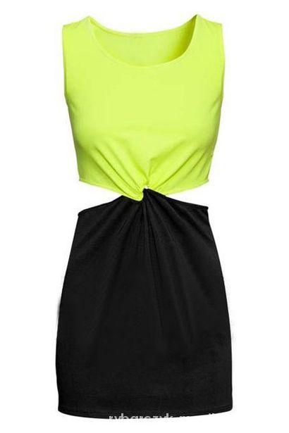 Nowa sukienka H&M neonowa r 40
