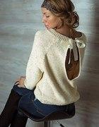 Sweterek łezka