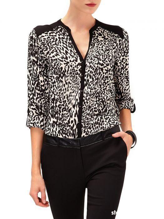 Bluzki Bluzka koszulowa Reserved nowa kolekcja